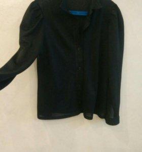 Рубашка блузка 44
