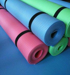 💯Коврики для йоги и фитнеса