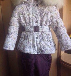 Зимний костюм Донило, на девочку от 1-2,5 лет