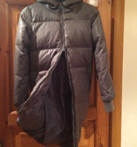 Пальто женское пуховое