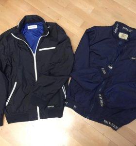 Куртки - ветровки Korpotwo и Burberry 56 размер