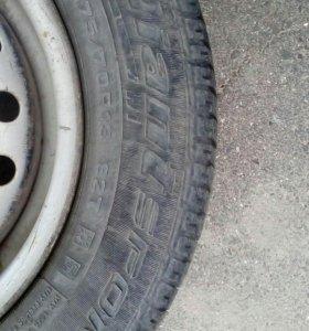 Продам колеса r13 на летней резине от нексии.