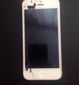 iPhone 5. Рабочий