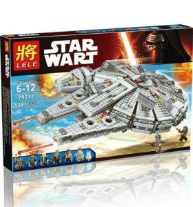Конструктор Bela/Lele/LEPIN аналог LEGO 75105 Star