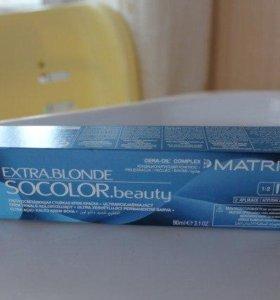 Супер осветляющая краска для волос MATRIX Socolor