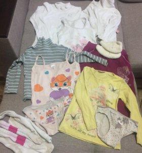 Вещи пакетом девочке от 2 до 4 лет