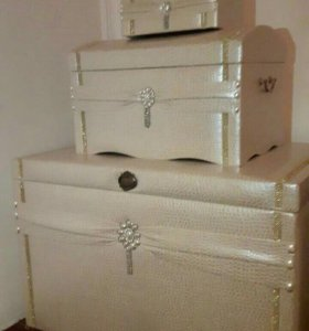 Сундуки с коробками