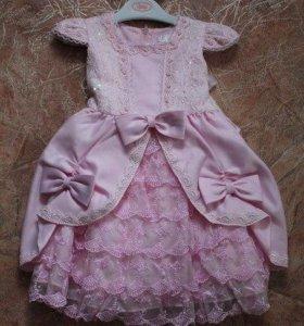 Платье для принцессы 84-92 лучше на 2-3 года