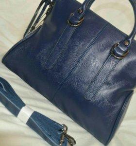 Кожаная сумочка ( новая)