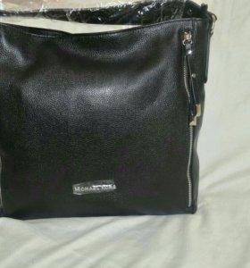 Женская сумочка кожаная (новая)