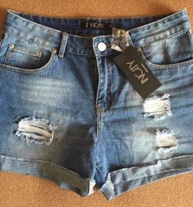 Шорты джинсовые новые Incity