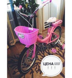 детский велосипед качественной фирмы TOYOU