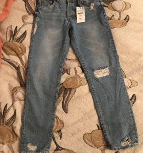 Новые джинсы Zara 36