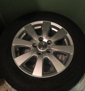Диски с резиной Toyota Camry