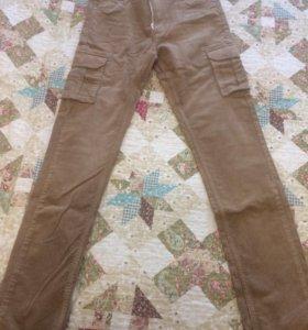 Новые вельветовые джинсы(Германия) рост 164