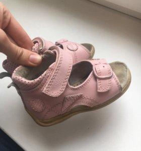 Ортопедические сандали босоножки натуральная кожа