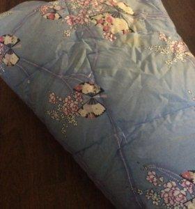 Пуховое одеяло 1,5 спальное