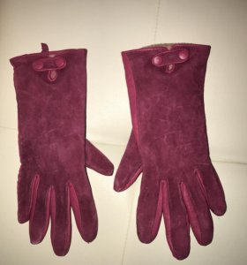 Перчатки осень зима ! Натуральная замша