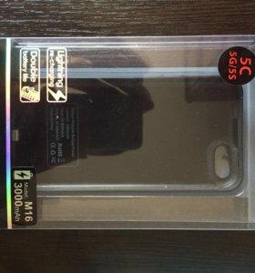 Чехол аккумулятор для iPhone 5серии