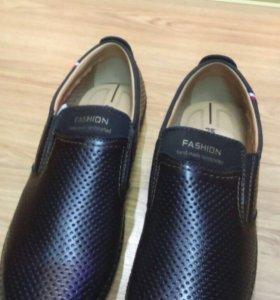 черная кожа Мода платье обувь