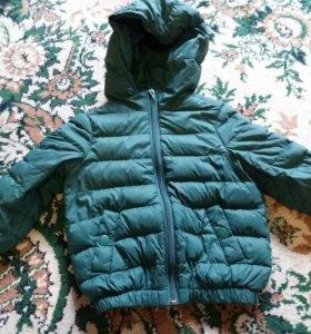 Курточка на теплую весну осень