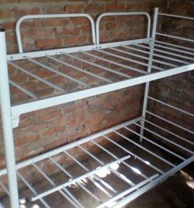 Кровать без матрасов