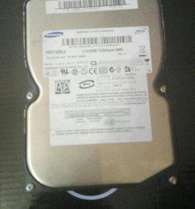 Жеский диск Samsung 120gb