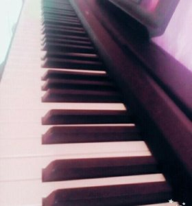 Синтезатор( электронное фортепиано )