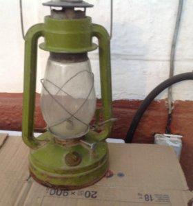 Лампа старинная