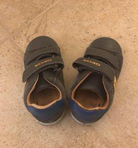Ecco детские ботинки (кеды)