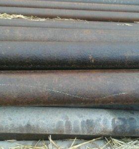 Трубы толстостенные 6 мм. Ф-89, длина от 7 до 11 м