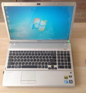 Ноутбук Sony vaio vpcf12M1R