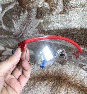 Защитные очки новые!
