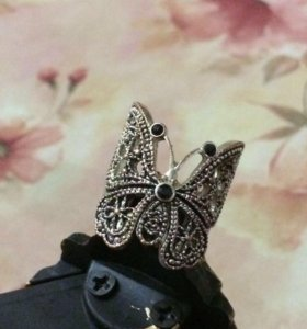 Кольцо-бабочка