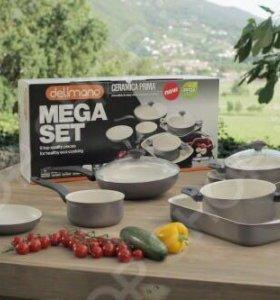 Набор посуды Delimano CERAMICA PRIMA MEGA+SET
