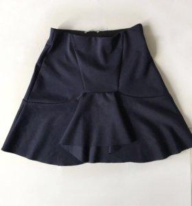Новая синяя юбка