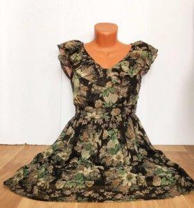 ‼️❤️💜новое шифоновое платье  ❤️💜‼️