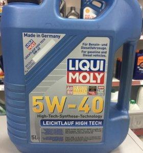 Масло Liqui Moly 5w40 Leichtlauf High Tech 5л