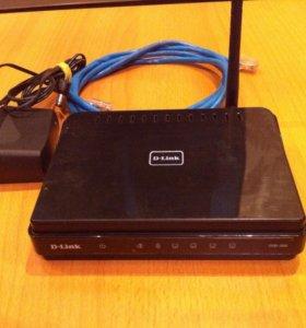 Wi- Fi роутер D-Link