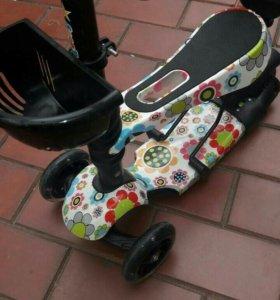 Самокат для малышей 5в1
