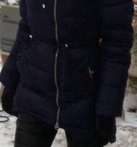 Пуховик зима 42 размер