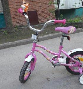 Велосипед для девочки(4-5 лет)