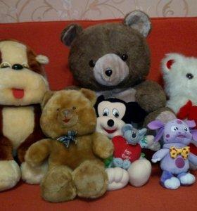 Продам обменяю мягкие игрушки