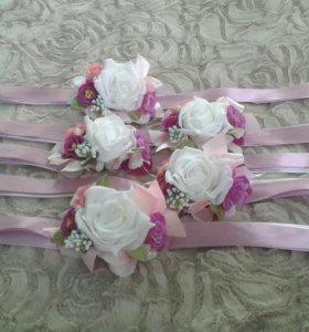 Свадьба.Браслет на руку подружкам невесты