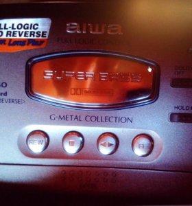 Новый кассетный аудиоплеер aiwa GMX40