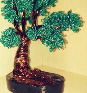Дерево бонсай(ручная работа)