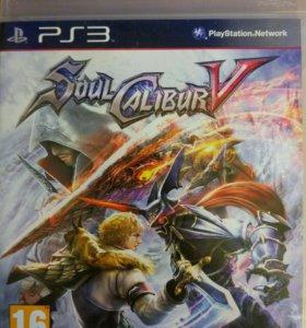 Диск для playstation 3 Soul Calibur 5 ps3