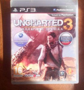 Uncharted 3 для Playstation 3 Ps3