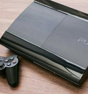 Sony PlayStation 3 Super Slim 500Гб + 3 игр. Обмен