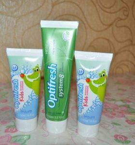 Зубная паста ориfлейм (детская и взрослая)